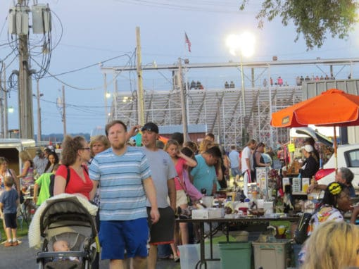 Belvidere Illinois Late Night Flea Market June 16, 2018