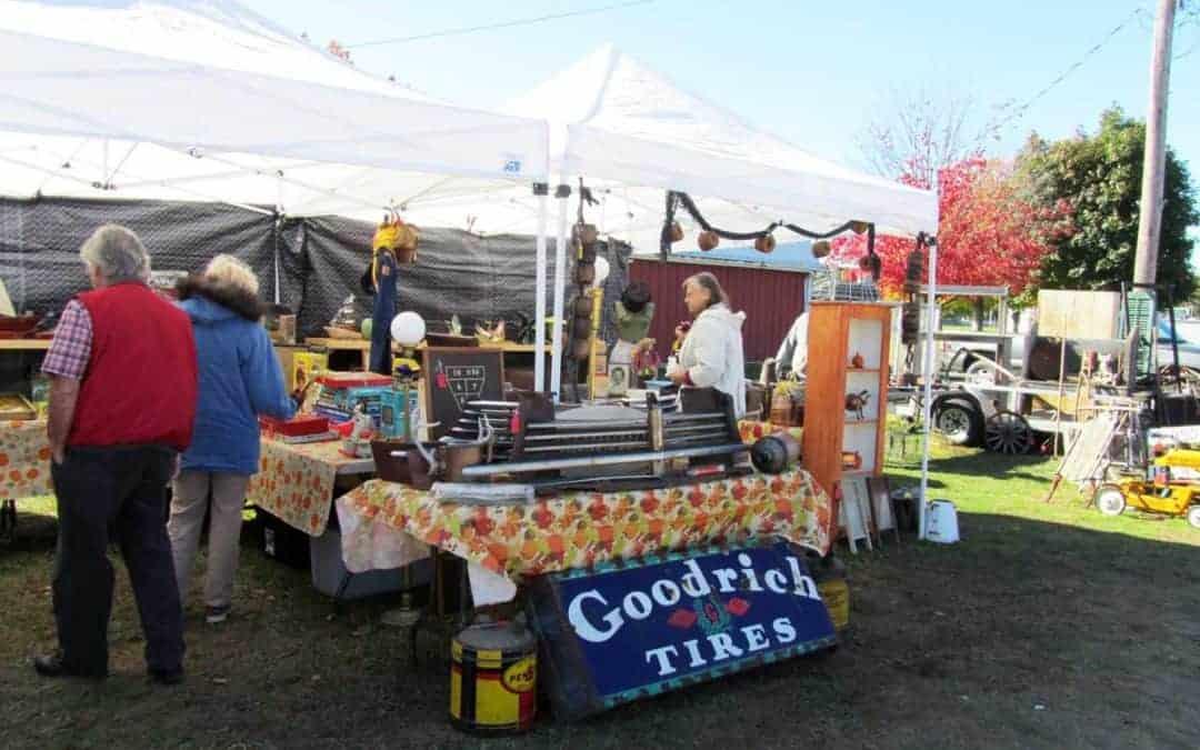 Centreville Michigan Antique & Vintage Flea Market October 13
