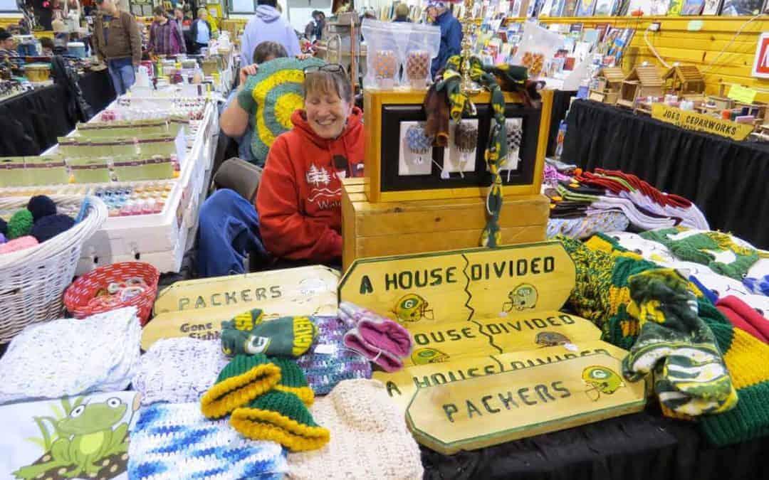 Indoor Shawano Wisconsin Flea Market 2018