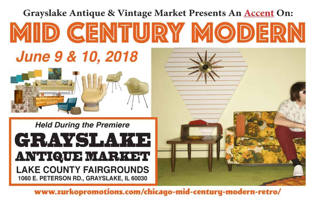 Chicago Grayslake Illinois Mid Century Modern Retro Show