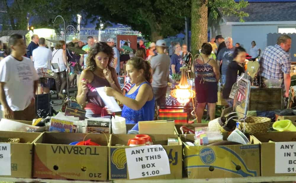 Belvidere Illinois Late Night Flea Market June 15, 2019