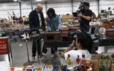 "Chicagoland Grayslake Antique Flea Market hosts DISCOVERY CHANNEL – International ""Vintage Tech Hunters""-TV Series"
